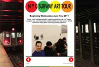 NYC Subway Art Tour