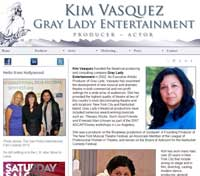 Gray Lady Entertainment, Kim Vasquez